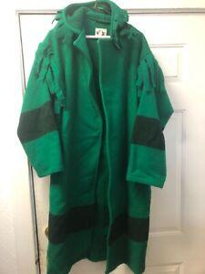 Woolrich Hudson Bay blanket Coat Fur Trade trapper Mountain man style sz M