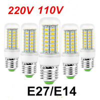 E27 E14 G9 24L 72L 220V haute luminosité maïs Ampoule 5730 SMD LED CORN LIGHT