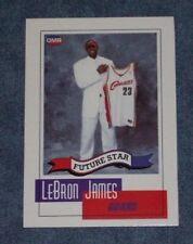 2003 OMR FUTURE STARS LEBRON JAMES ROOKIE CARD LAKERS