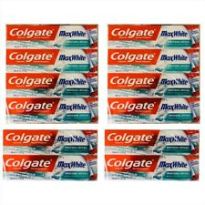 Colgate MaxWhite Whitening Crystals Toothpaste 100ML Pack of 6 or 12 Free P&P