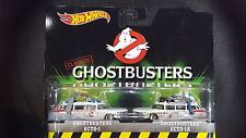 HOT WHEELS CLASSIC GHOSTBUSTERS ECTO-1 ECTO-1A 2 PACK SAVE 5% WORLDWIDE FAST