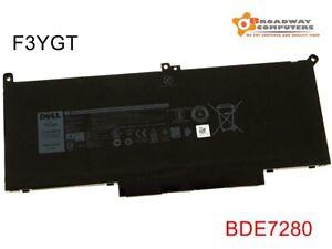 Genuine F3YGT Battery Dell Latitude 12 13 14 7000 7280 7290 7380 7390 7480 7490
