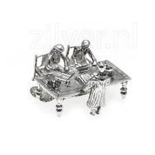 Miniatuur voorstelling bruidspaar huwelijksakte