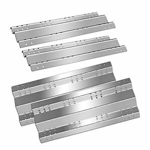 Grill Heat Plate, 15.75 inch, BBQ Stainless Steel, Heat Plate Tent Shields, 4