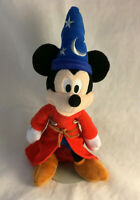 "Disney Mickey Mouse Wizard Fantasia 10"" Beanbag Plush - Stuffed Animal"