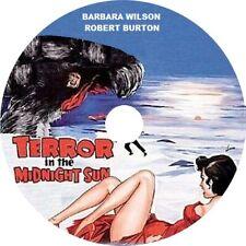 Terror In the Midnight Sun (1959 Swedish Sci-Fi film dubbed English) Mod Dvd dis