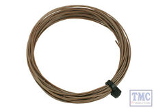 DCW-32BR DCC Concepts N/TT/HO/OO/O/G Scale Brown Stranded Decoder Wire (6m)