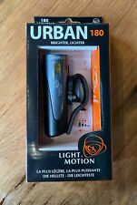 Light & Motion Urban 180 Bicycle Head Light, Micro USB chargeable, tool-less mnt
