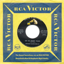 GEORGE HAMILTON IV Oh So Many Years Abilene US Press RCA 47-8181 SP