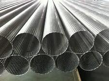 """Exhaust Stainless Steel Perforated Tube OD 57.15 MM OR 21/4"""" INCH 1 X METER LONG"""