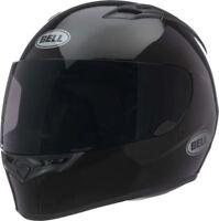 Bell Qualifier Helmet Gloss Black Full Face Motorcycle DOT Clear Shield XS-3XL