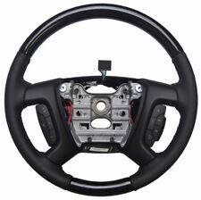2013-2014 Enclave Acadia Traverse Steering Wheel Ebony W/Woodgrain New 22833221
