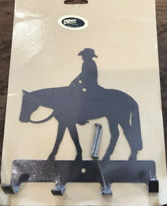 Lazart Rustic Horse And Rider Collector's Series Western KEY HOLDER NEW
