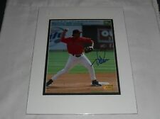 Boston Red Sox Autographed Todd Walker 8X10 Matted W/Coa