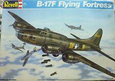 Revell 1990 1/48 scale Boeing B-17F Flying Fortress Plastic Model Kit #4701 NEW