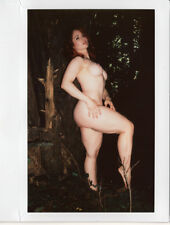 OOAK Original Instax Wide Polaroid Photo - Nude Woman Redhead Outdoor Nature