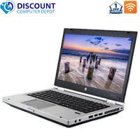"HP 8460p 14"" Laptop Computer PC Core i5 8GB 256GB SSD DVD Wifi Windows 10 Pro PC"
