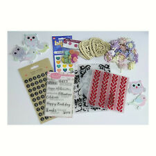 Craft Room Clear Out / Collection of Craft Items - Embossing Folders, Stamps etc