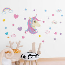 ced5 Full Color Wall decal Sticker rainbow fun holiday bedroom kids nursery