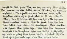 1911 Manuscript - PIONEER AVIATORS - Bleriot - Vedrines - Boerner - PAU France
