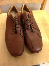 Men's Clarks Flex24 Shoes in Brown and size UK 10 Used.