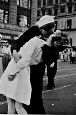 "New York City Times Square Kiss 4""x 6"" World War II WW2 Photo 17"