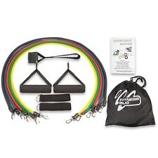 Resistance Bands Set 11pcs Exercise Yoga Fitness Workout Training Strength Tubes