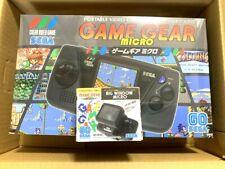SEGA Game Gear Micro 4 Farbe Komplett Set + 16 Nadeln Sammlung Packung