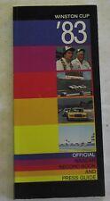 1983 NASCAR Stock Car Racing Record Book