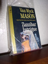 Zanzibar Intrigue by Van Wyck Mason (Pocket #50128,1'st Prnt. May 1965)