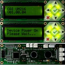 UM216 LCD display and keypad USB host connection