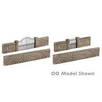 Graham Farish 42-555 N Gauge Stone Walls & Gates