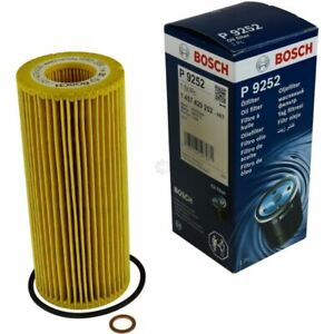 Bosch Engine Oil Filter Fits Jaguar XF 3.0 UK Bosch Stockist Mk1