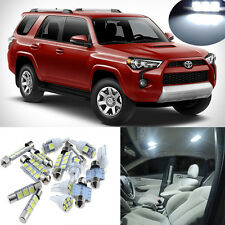13pcs White Interior LED Light Package Kit for Toyota 4Runner 2003-2014