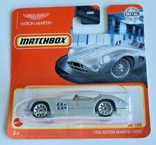 Matchbox 1956 Aston Martin DBR1 - Silver #44 44/100 2021 Basic Car - Short Card