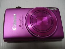 Very Nice Canon Powershot 330 HS IXUS 255 12MP Digital Camera 330HS - Pink