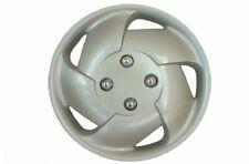 "Silver Cyclone Wheel Trim Set 13"" Inch Tire Car Trims Covers Caps Estilo 62774"