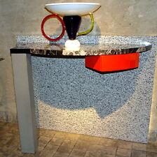 Console MENSOLA CREDENZA Belvedere 1982 Aldo Cibic per Memphis Milano by franta