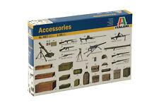 1/35 WWII Diorama Accessories ITALERI 0407 Model kit