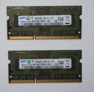 "Apple MacBook Pro 17"" 2011 Memory Ram 4GB PC3-10600 DDR3-1333 SDRAM Samsung"