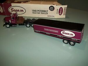 Snap On Tools 1948 PETERBILT Tractor Trailer Die Cast Limited Edition Ertl 1997