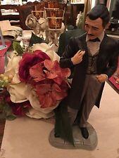 Clark Gable as Rhett Butler Figurine Hand Painted Porcelain Franklin Mint 1989