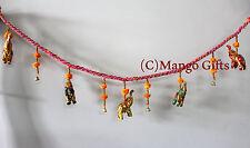 Multicolor Elephant Door Hanging String Decoration Boho Decor Ornaments Lot 10Pc