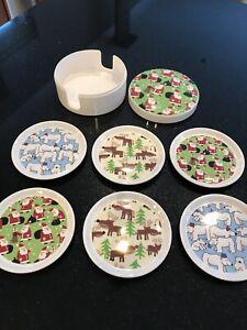 Marks and Spencer Melamine Christmas Coasters