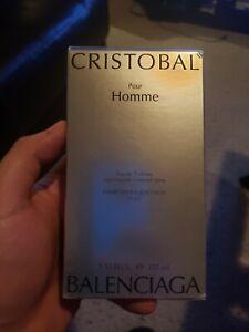 Cristobal Pour Homme EDT Spray 3.33 Oz. By Balenciaga. Discontinued Super Rare!!