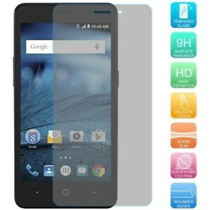 Premium Thin [Real Tempered Glass] Screen Protector for ZTE Avid Trio / Cheers