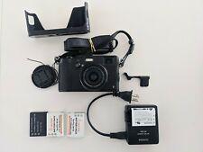 Fuji x100t black 16.3MP Digital Camera w/23mm f2 Lens. Rangefinder. + EXTRAS