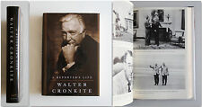 Walter Cronkite A REPORTER'S LIFE First Edition 1996 Alfred Knope New York