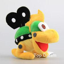 Super Mario Bros Mecha Bowser Koopa Soft Plush Toy Stuffed Doll 6'' Turtle Teddy