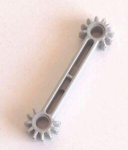 LEGO 1x Technic Braccio Ingranaggio 9 Denti 1x7 GRIGIO CHIARO (OLD) 41666